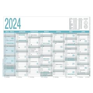 Tafelkalender 2019 Zettler 909, 7 Monate / 1 Seite, A4