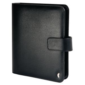 Ringbuch Chronoplan 50103 Standard Einsteiger, A5, Kunstleder, schwarz