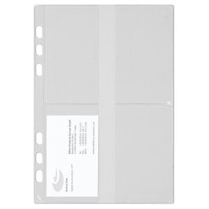 Visitenkartenhüllen Chronoplan 50384, A5, 3 Stück