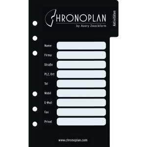 Register Chronoplan 50334, Midi, schwarz, 18teilig