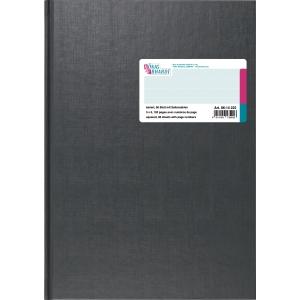Geschäftsbuch K+E 86-14222, A4, kariert, Seitenzahlen, 96 Blatt
