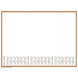 Schreibunterlage 2019 Brunnen 70126, 58,5 x 43,5cm, großes Notizfeld, 50 Blatt