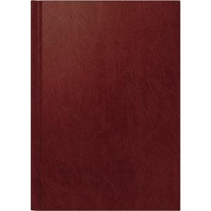 Buchkalender 2019 Brunnen 79560, 1 Tag / 1 Seite, A5, weinrot