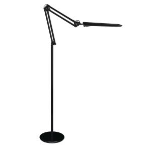 LED-Stehleuchte Aluminor Cosmix, schwarz