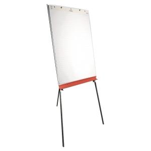 Flipchartblock Lyreco, kariert/blanko, Maße: 65 x 98cm (BxH), 50 Blatt, 5 Stück