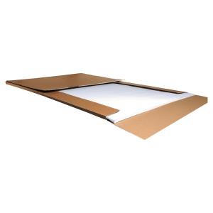 Flipchartblock Lyreco Premium, kariert/blanko, Maße: 65 x 98cm, 50 Blatt, 2St