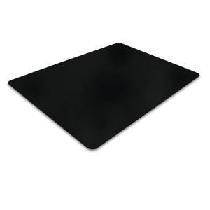 Bodenschutzmatte Cleartex, 90 x 120cm, für Hartböden, schwarz