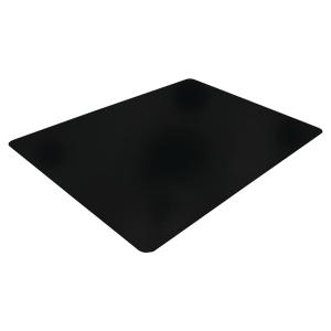 Bodenschutzmatte Cleartex, 120 x 150cm, für Hartböden, schwarz