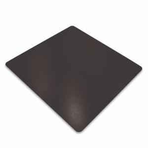 Bodenschutzmatte Cleartex, 120 x 150cm, für Teppichböden, schwarz