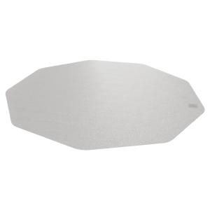 Bodenschutzmatte 9 Mat, 96 x 98cm, für Hartböden, transparent