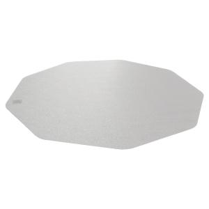 Bodenschutzmatte 9 Mat, 96 x 98cm, für Teppichböden, transparent