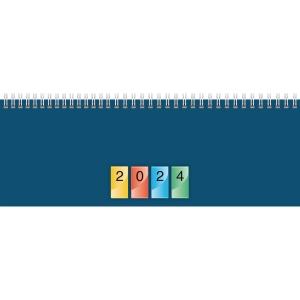 Tischquerkalender 2019 Brunnen 77240, 1 Woche / 2 Seiten, 29,7x10cm, 4-farbig