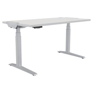 Schreibtisch Fellowes 9708901, verstellbar, Größe: 180 x 80cm, weiß