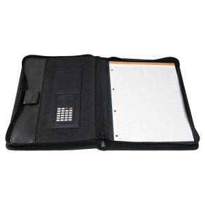 Konferenzmappe Exactive 55534E, PP, mit Rechner, schwarz