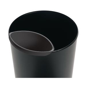 Sicherheitspapierkorb HAN 1818-F 20 Liter, schwarz