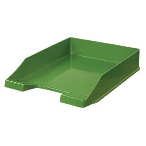 Briefkorb HAN 1027, stapelbar, Maße: 243 x 335 x 57mm, grün