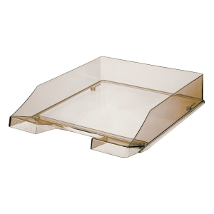 Briefkorb HAN 1026, stapelbar, Maße: 243 x 335 x 57mm, rauchtopas