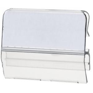 Sichtreiter HAN für Stützplatten, transparent