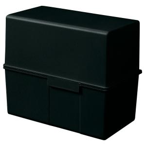 Karteibox HAN 977, A7 quer, für max. 300 Karten, schwarz