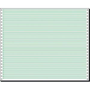 Endlospapier Sigel 12371, 1fach, 304,8 x 375mm, Leselinien, 60g, 2000 Blatt