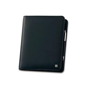 Ringbuch Timesystem 37576 Standard, A5, Kunstleder, ohne Inhalt, schwarz
