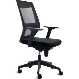 Bürostuhl CEP 908-4 Lumbar Mesh, mittelhohe Rückenlehne, schwarz