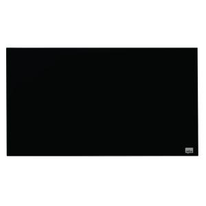 Magnettafel Nobo 1905179, Maße: 68 x 38 cm (L x B), Glas, schwarz