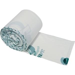 Müllbeutel Deiss 06028, Maße: 430 x 500mm, Volumen: 15 Liter, weiß/grün, 50 St