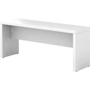 Sitzbank Hammerbacher VMB118/W, Länge: 118cm, weiß, 2 Stück