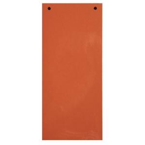 Trennstreifen 24 x 10,5cm, orange, 100 Stück