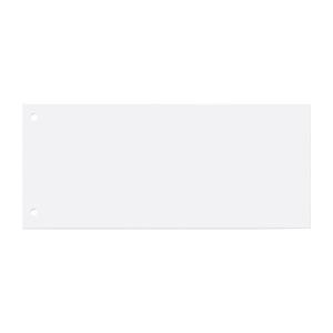Trennstreifen 22,5 x 10,5cm, weiß, 100 Stück