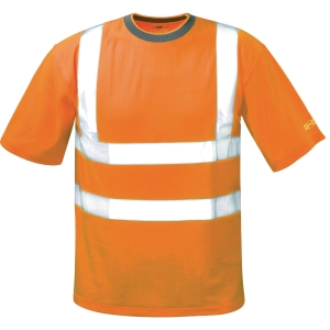 Warnschutzshirt SAFESTYLE 22696, Brian, S, warnorange
