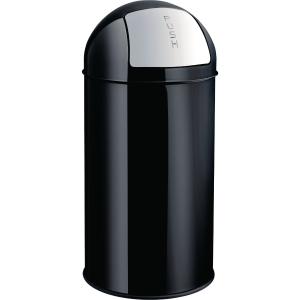 Papierkorb Helit H2401495, Fassungsvermögen: 50 Liter, schwarz