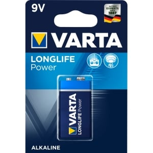 Batterie Varta 4922, E-Block, 6LR61, 9 Volt, Longlife Power