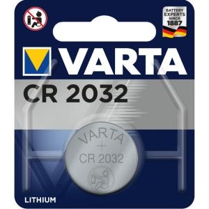 Batterie Varta 6032, Knopfzelle, CR2032, 3 Volt, Lithium