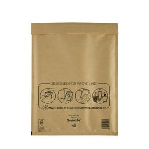 Luftpolstertaschen Mail Lite H/5 Innenmaße: 270x360mm goldgelb 5St