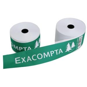 Additionsrollen Exacompta 40513E, Breite: 70mm, Länge: 44m, Kern: 12mm, 10 St