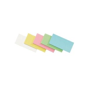 Moderationskarten Legamaster 252199, Maße: 20 x 10cm, Rechteck, sortiert, 500St