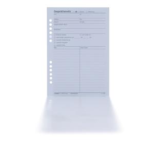 Gesprächsnotizen Tempus BF26, Format: A5, 20 Blatt