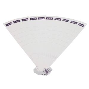 Rückenschilder Lyreco , lang / schmal, weiß, 10 Stück