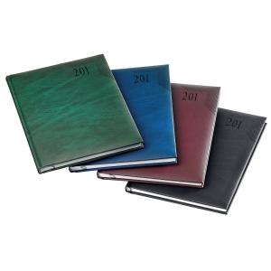 Buchkalender 2019 Schneider 944300, 1 Woche / 2 Seiten, 15 x 21cm, schwarz