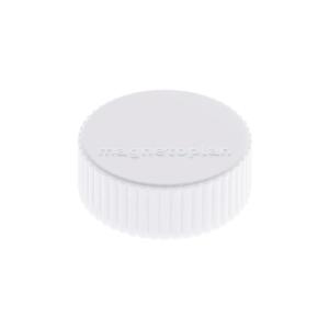 Haftmagnet Magnetoplan 16600, Durchmesser: 34mm, weiß, 10 Stück