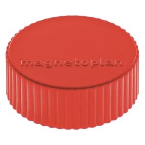 Haftmagnet Magnetoplan 16600, Durchmesser: 34mm, rot, 10 Stück