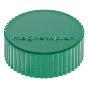 Haftmagnet Magnetoplan 16600, Durchmesser: 34mm, grün, 10 Stück