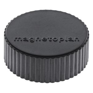 Haftmagnet Magnetoplan 16600, Durchmesser: 34mm, schwarz, 10 Stück
