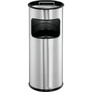 Standascher Durable 3330 mit Abfallkasten silber