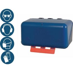Aufbewahrungsbox SecuBox Mini, blau, Maße: 236x120x120mm, 1 Stück