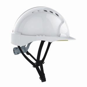 Schutzhelm JSP, AJF250-000, Linesman, HDPE, weiss