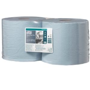 Papierputztücher Tork 130052 Advanced, 2-lagig, Länge: 255m, blau, 2 Rollen