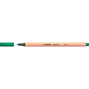 Fineliner Stabilo point 88/36, Strichstärke: 0,4mm, grün